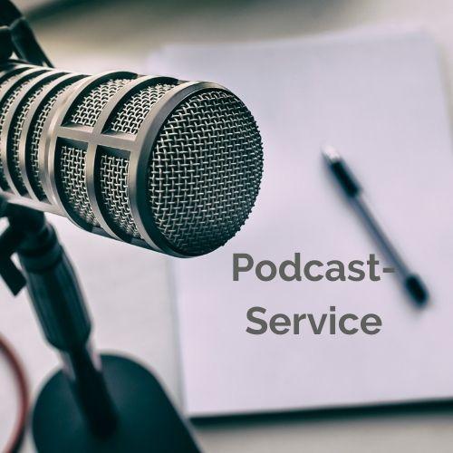 Button Podcast-Service