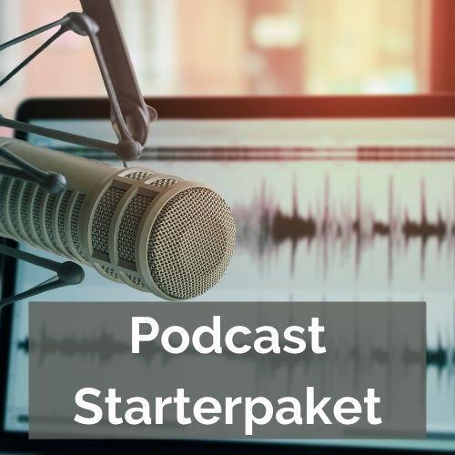 Button Podcast-Starterpaket